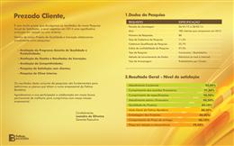 Pesquisa com Clientes Indica satisfação de 88,5%
