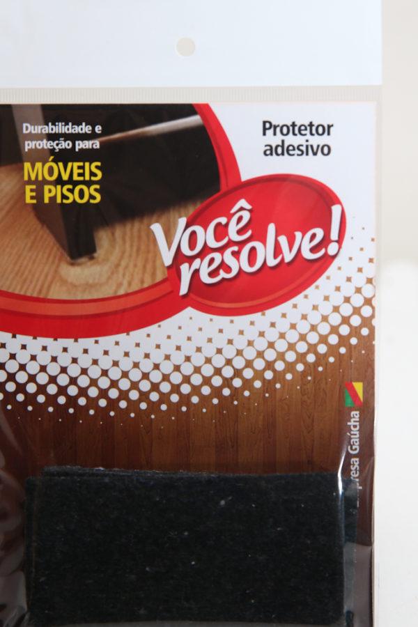 Anti-risco – 100x50mm | Preto – Ref.: 1826